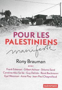 Pour les Palestiniens : manifeste