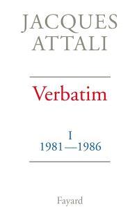 Verbatim. Volume 1, 1981-1986