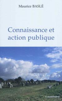 Connaissance et action publique