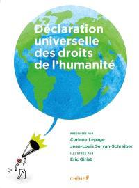 Déclaration universelle des droits de l'humanité