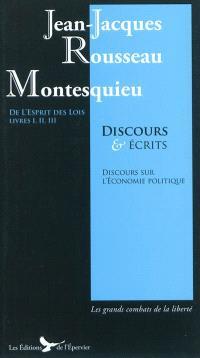 Discours et écrits