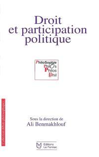 Droit et participation politique