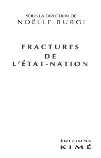 Fractures de l'Etat-nation