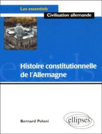 Histoire constitutionnelle de l'Allemagne