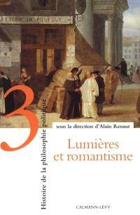 Histoire de la philosophie politique. Volume 3, Lumières et romantisme
