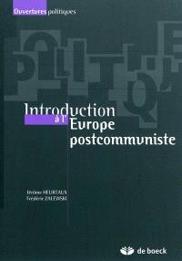 Introduction à l'Europe postcommuniste