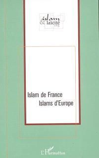 Islam de France, Islams d'Europe