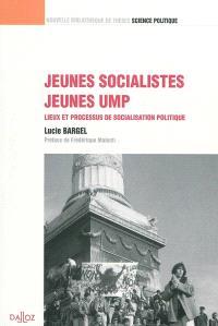 Jeunes socialistes, jeunes UMP : lieux et processus de socialisation politique