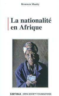 La nationalité en Afrique