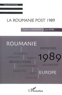 La Roumanie post-1989