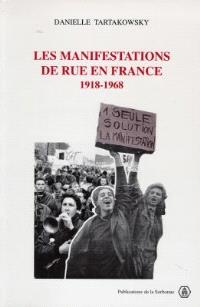 Les manifestations de rue en France, 1918-1968