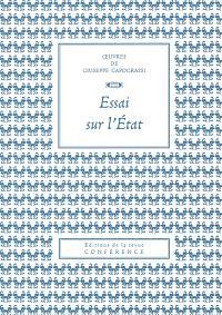 Oeuvres de Giuseppe Capograssi, Essai sur l'Etat