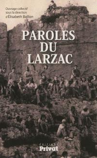 Paroles du Larzac