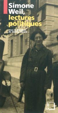 Simone Weil, lectures politiques