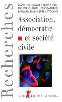 Association démocratie et société civile : s'associer, pour quoi faire ?