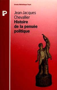 Histoire de la pensée politique