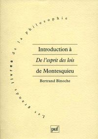 Introduction à De l'esprit des lois de Montesquieu