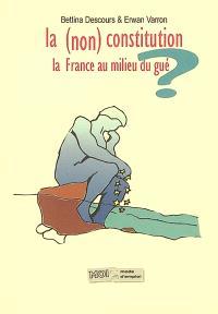 La non Constitution : la France au milieu du gué : analyse, état des lieux et synthèse