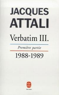 Verbatim. Volume 3-1, 1988-1989