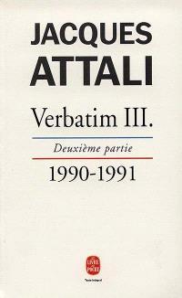Verbatim. Volume 3-2, 1990-1991