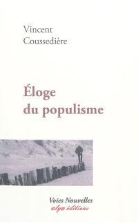 Eloge du populisme