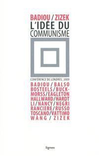 L'idée du communisme, Conférence de Londres, 2009