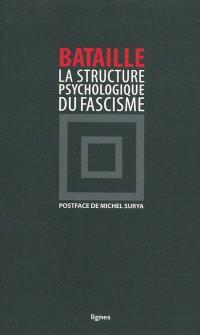 La structure psychologique du fascisme