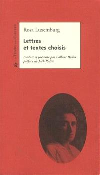 Lettres et textes choisis