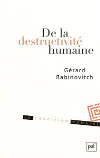 De la destructivité humaine : fragments sur le Béhémoth