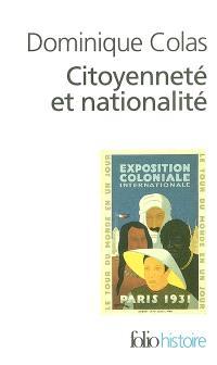 Citoyenneté et nationalité