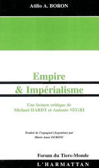 Empire et impérialisme : une lecture critique de Michael Hardt et Antonio Negri
