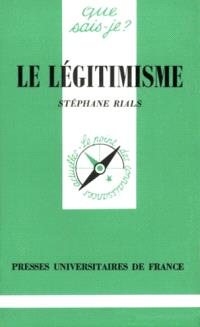 Le Légitimisme