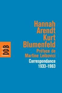 Correspondance : 1933-1963