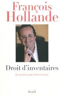 Droit d'inventaires : entretiens avec Pierre Favier