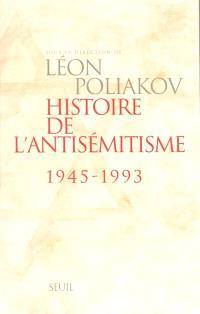 Histoire de l'antisémitisme : 1945-1993