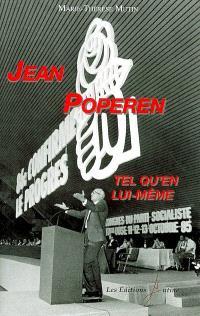Jean Poperen tel qu'en lui-même