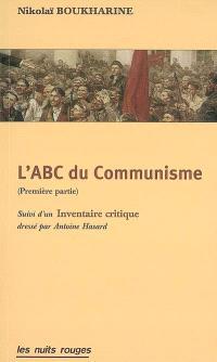 L'abc du communisme : première partie