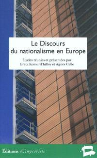 Le discours du nationalisme en Europe