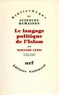 Le langage politique de l'Islam