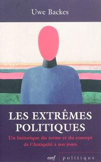 Les extrêmes politiques : un historique du terme et du concept de l'Antiquité à nos jours