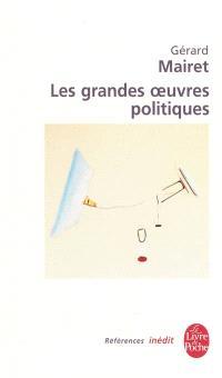 Les grandes oeuvres politiques : introduction à la théorie politique
