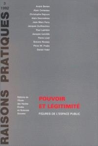 Pouvoir et légitimité : figures de l'espace public