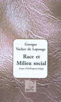 Race et milieu social : essais d'anthroposociologie