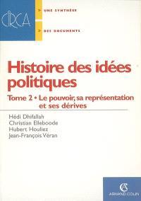 Histoire des idées politiques. Volume 2, Le pouvoir, sa représentation et ses dérives