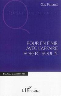 Pour en finir avec l'affaire Robert Boulin