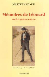 Mémoires de Léonard, ancien garçon maçon