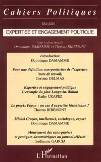 Expertise et engagement politique