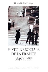Histoire sociale de la France depuis 1789