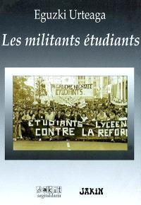 Les militants étudiants
