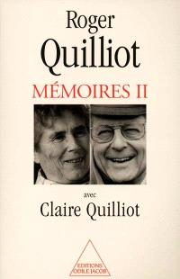 Mémoires. Volume 2